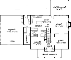 one story house plans with measurements home act