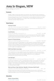 Personal Trainer Resume Example No Experience by Personal Trainer Resume Samples Visualcv Resume Samples Database
