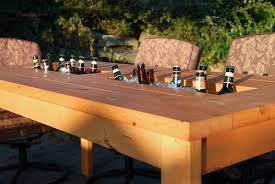 Build Your Own Outdoor Patio Table by 5 Pieces Of Outdoor Furniture You Can Build Yourself Curbly