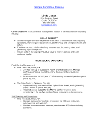 warehouse worker resume objective example cv hospitality position