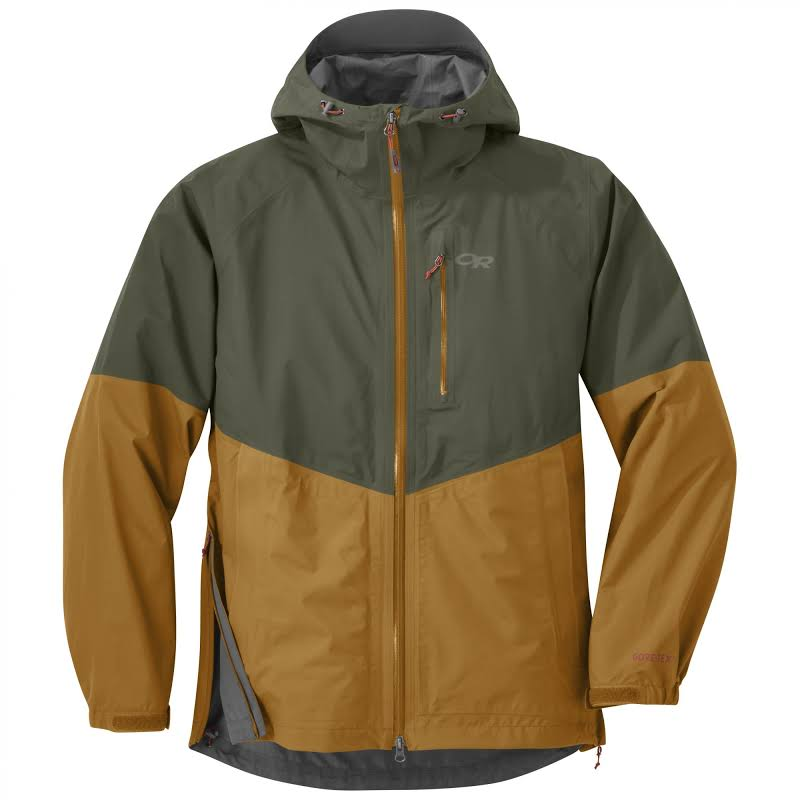 Outdoor Research Foray Jacket CLEARANCE-Small Juniper/Curry