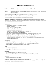 On Campus Job Resume by 8 Freshman Resume Template Invoice Template Download