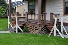 exterior astonishing brown cherry wood front porch rails with