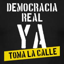 Democracia real, ya