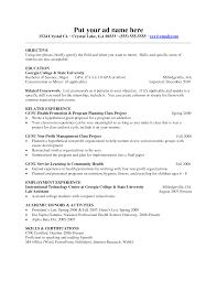 Teaching Experience On Resume  sample undergraduate level high     Job Cover Letter Teacher