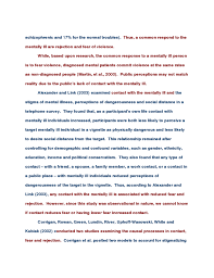 Literature review paper example