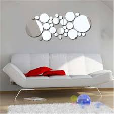 new arrivals 2016 filled circle mirror style removable decal art new arrivals 2016 filled circle mirror style removable decal art mural wall sticker home decor wall decals art wall decals canada from yeliut6047