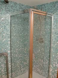 shower area door bathroom tiles waplag magnificent green mosaic