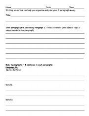 persuasive outline outline persuasive essay   essay argument