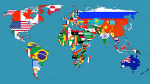 flags maps countries world map wallpapers