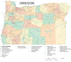 Oregon Map by Oregon State Maps Usa Maps Of Oregon Or Map Of Oregon Moli Map