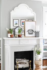 Modern Farmhouse Interior by Modern Farmhouse Mantel Decor 2 Ways Inspired By Charm