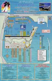 Map Of Clearwater Florida Marina St Petersburg