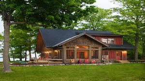 Cabin Design Ideas Awesome Lakefront Home Designs Photos Decorating Design Ideas