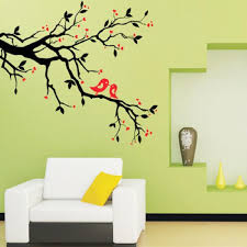 surprising inspiration wall decor stickers for living room chic wall decor stickers for living room nice decoration tree branch love birds cherry blossom wall