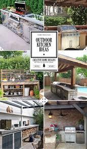 Diy Outdoor Kitchen Ideas Best 20 Small Outdoor Kitchens Ideas On Pinterest Outdoor