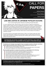 Cv Inclusion by Law And Justice In Japanese Popular Culture Synesthesia Of Law