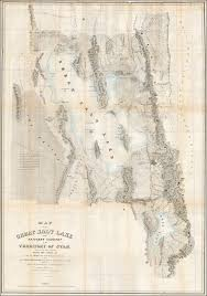 Map Of Utah And Colorado by Map Of The Great Salt Lake And Adjacent Country In The Territory