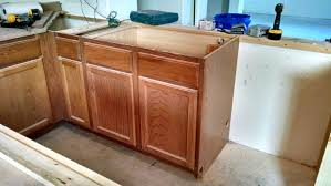 How To Install Kitchen Cabinets by Pneumatic Addict How To Install An Apron Sink In A Stock Cabinet