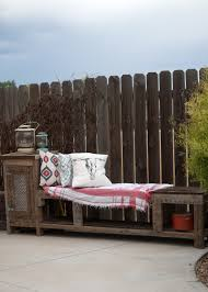 Diy Reclaimed Wood Storage Bench by Outdoor Storage Bench Using A Kreg Jig Averie Lane Outdoor