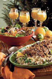 holiday dinner party menus southern living