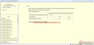 free auto repair manual mitsubishi lancer 2015 and lancer