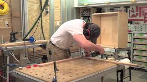 Kitchen Cabinet Making Building Kitchen Cabinets Part 20 Making Face Frames For The Wall
