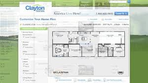 interactive floor plan manufactured homes by clayton homes youtube