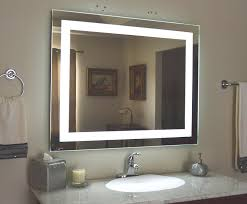 amazon com wall mounted lighted vanity mirror led mam84432