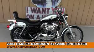 used 2003 harley davidson xl1200c sportster 100th anniversary