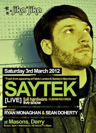 Ryan Monaghan Sean Doherty. We're back at Masons doing what we think we do best, that is, showcasing the finest underground talent that we can bring to the ... - uk-0303-342548-front