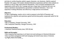 Chemist Resume Samples by Psychology Resume Sample Resumedoc