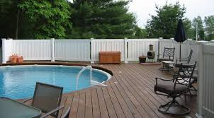 fence best vinyl fencing companies wonderful vinyl fence ideas