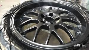 lexus wheels paint code black shadow chrome wheel painting youtube