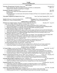 Cover Letter For Resume Examples For Students by Career Services At The University Of Pennsylvania