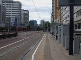 Wellesley Road tram stop