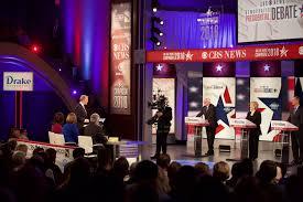 behind the scenes at the democratic presidential debate newsroom