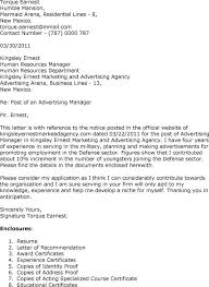 Manager Cover Letter Examples    st job resume