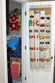 how to organize your gift wrapping supplies for under 10