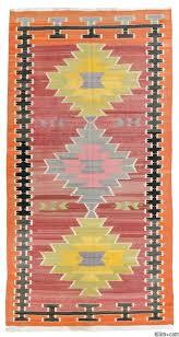 Vintage Turkish Kilim Rugs Vintage Milas Kilim Rug