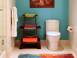 chic cheap bathroom makeover hgtv