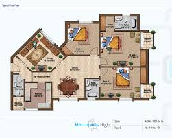 Servant Quarters Floor Plans Rng Group Rng Infrastructure Pvt Ltd Metropolis Project