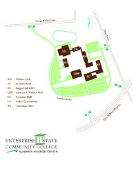 Bc Campus Map Locations U2013 Enterprise State Community College