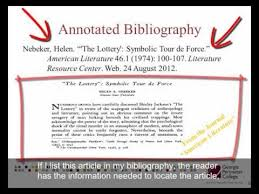 Example of a research paper with annotated bibliography    Purdue Online Writing Lab   Purdue University