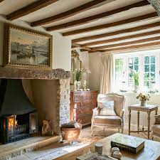 french regency decor in a country wiltshire cottage english