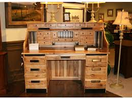 Used Office Furniture Hickory Nc by Amish Oak And Cherry Home Office American Made Rustic Hickory Roll