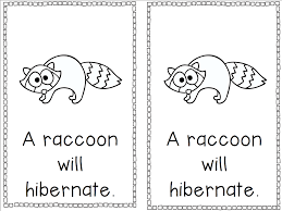 hibernating animals coloring pages eson me