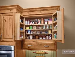 Kitchen Stand Alone Pantry by Pantry Cabinet Rustic Pantry Cabinet With Kraftmaid Multistorage
