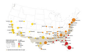 Map Of Florida Cities And Towns by Potential Zika Virus Risk Estimated For 50 U S Cities Ucar