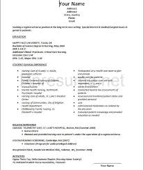 Resume Examples For Graduate Students  resumes for college  nankai